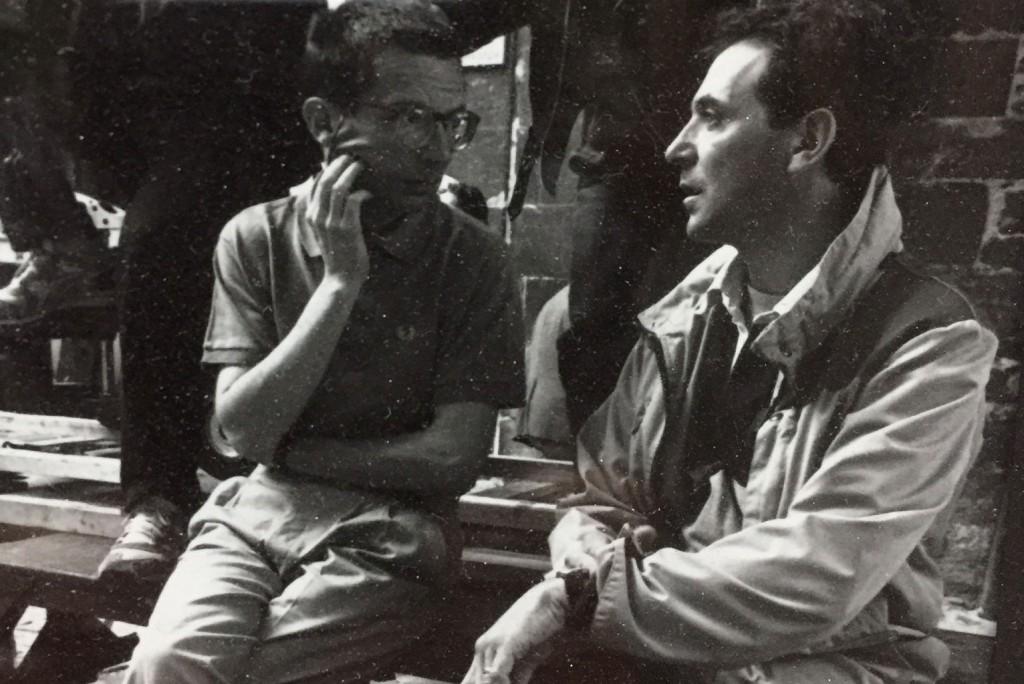 Etienne Dhaene et Patrice Leconte
